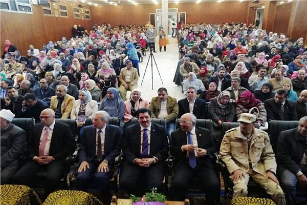 محافظ القليوبية يشهد احتفالية مديرية التربية والتعليم بالليلة المحمدية