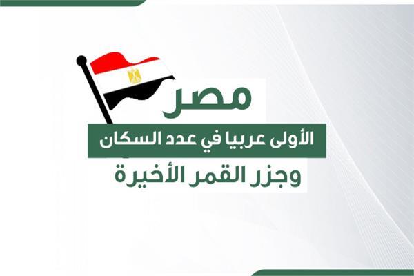 مصر الأولى عربيا في عدد السكان تليها السودان.. وجزر القمر «الأخيرة»