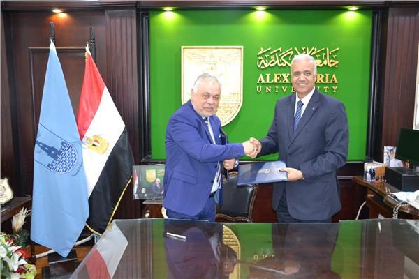 اتفاقية بين أكاديمية الفنون وجامعة الإسكندرية