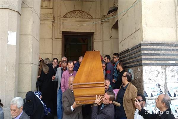 جنازة ابراهيم سعدة