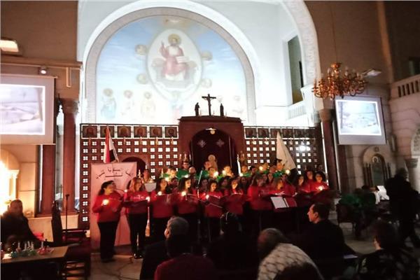 اللجنة المسكونية تنظم أمسية ميلادية بكاتدرائية الأنبا انطونيوس بالفجالة