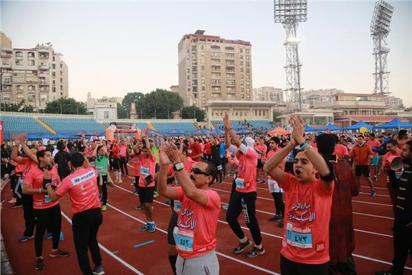 انطلاق ماراثون الإسكندرية تحت رعاية وزارة الشباب والرياضة