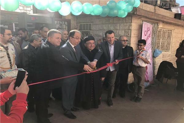 السفير اللبناني يشارك افتتاح معرض الكنيسة المارونية
