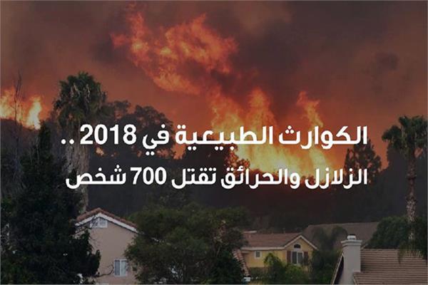 الكوارث الطبيعية في 2018