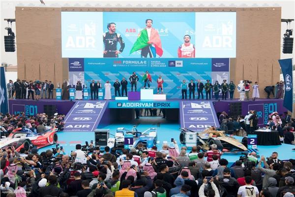 مهرجان سباق السعودية للفورمولا إي- الدرعية 2018