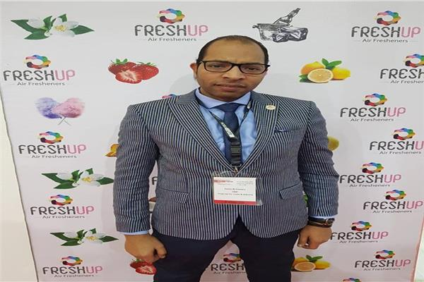 رامي الهواري مؤسس رابطة مصنعي عطور السيارات في مصر