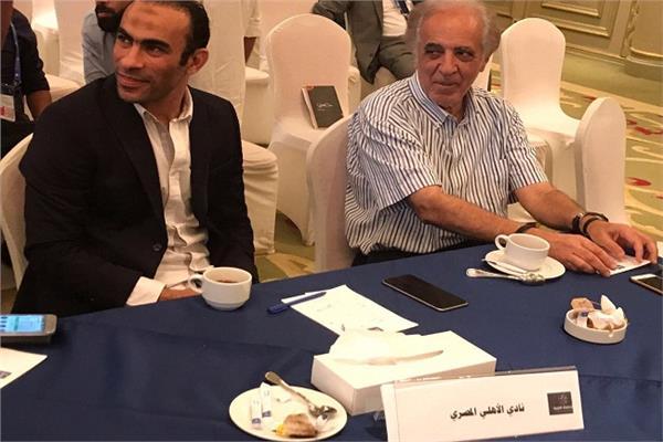 سيد عبد الحفيظ وسمير عدلي