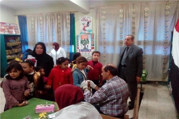 بدءالحملة الرئاسية للكشف عن أمراض الأنيميا والتقزم لطلاب القليوبية اليوم
