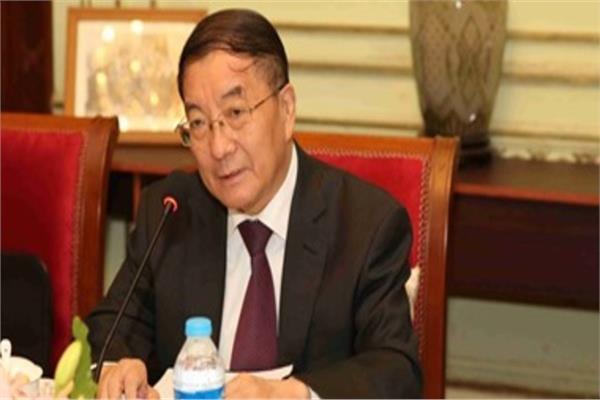 سونج ايقوه سفير الصين بالقاهرة