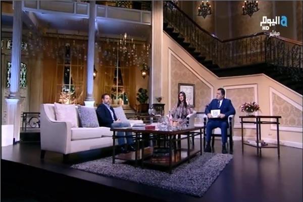 ريتشارد الحاج مع أدوارد و نانسي مجدي