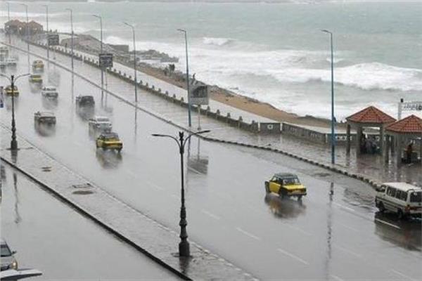 أمطار على الساحل الشمالى والوجه البحرى حتى الخميس