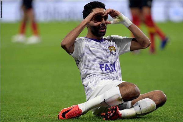 حسين الشحات مع العين الإماراتي