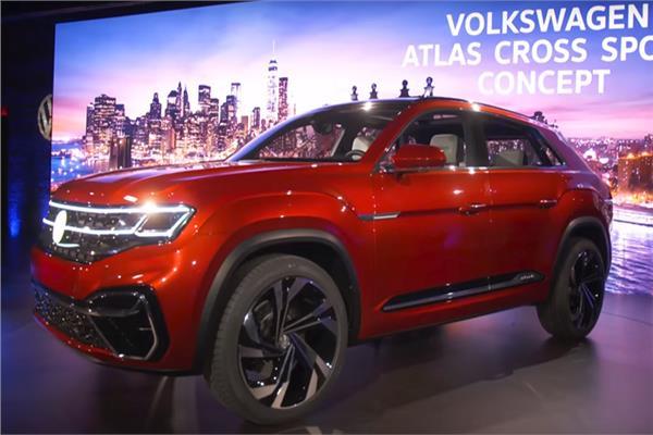 شاهد| فولكسفاجن تطلق جيلا جديدا من سيارات Atlas Cross Sport