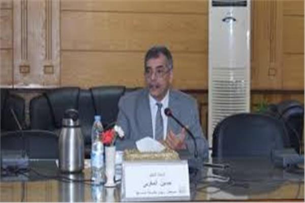 الدكتور على المغربى رئيس جامعة بنها