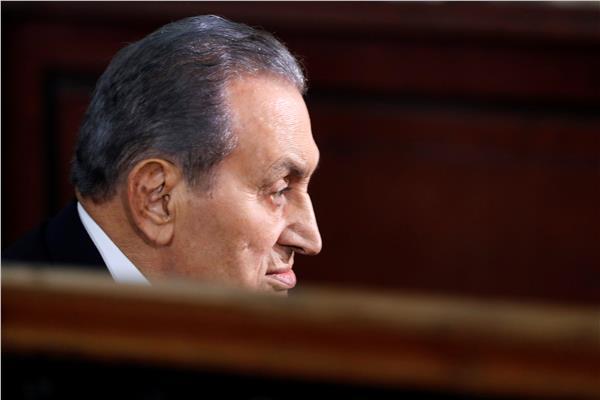 الرئيس الأسبق حسني مبارك - صورة من رويترز