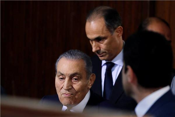 حسني مبارك في قضية اقتحام الحدود الشرقية - صورة من رويترز