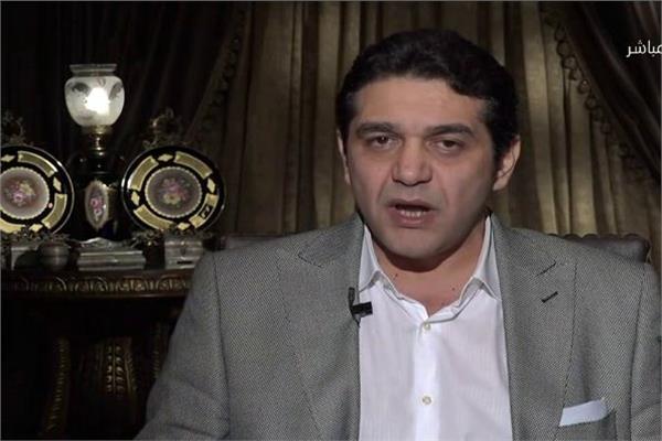 وليد قوطة المرشح السابق للنادي المصري البورسعيدي