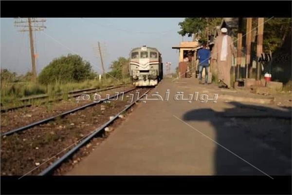 محطة سكة حديد كوم ابو راضي