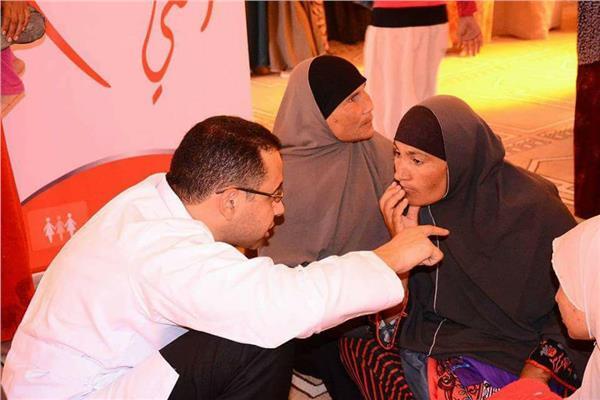 إحدى حملات رفع وعي المرأة