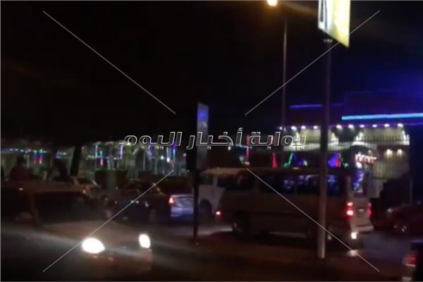 الشوارع المصرية مرحبين بالسنةالقادمة
