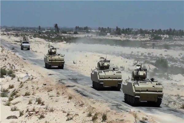 استمرار عمليات محاربة الإرهاب في سيناء