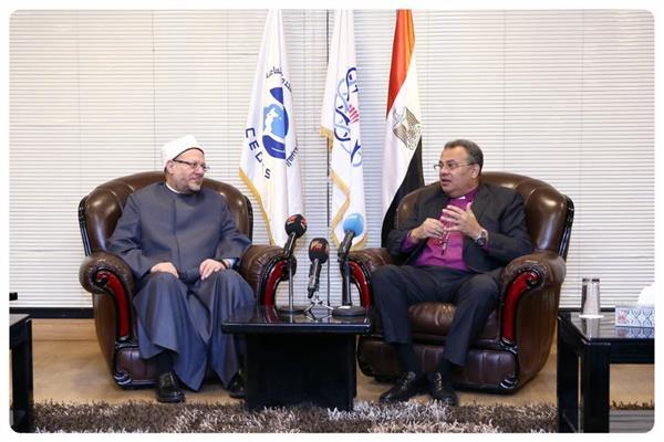 القس أندريه زكي، رئيس الطائفة الإنجيلية بمصر