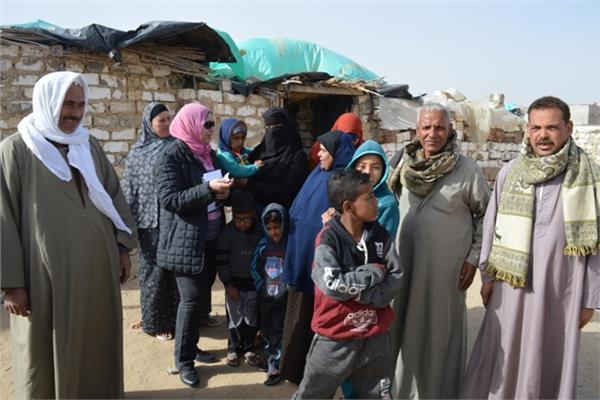 بوابة أخبار اليوم مع أهالي أفقر قريتين بالنوبارية