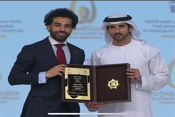 محمد صلاح في حفل الإبداع الرياضي