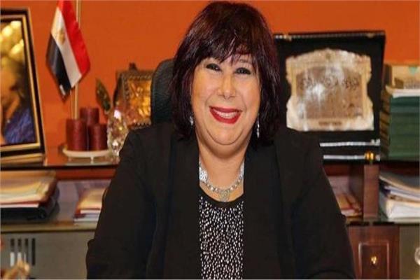 وزيرة الثقافة دكتور ايناس عبد الدايم