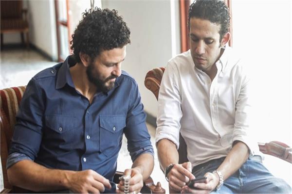 محمد فضل وحسام غالي