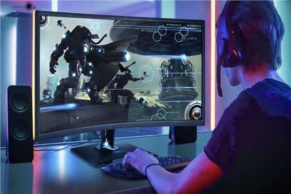 شاشات جديدة للاعبين في معرض الإلكترونيات الإستهلاكية CES 2019