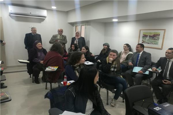 الإدارة المركزية للوافدين والمغتربين بالقاهرة