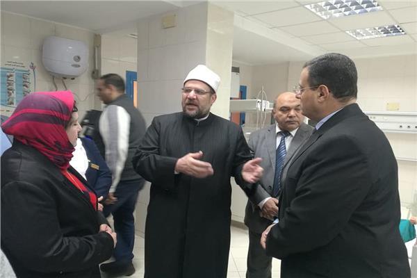 وزير الأوقاف: جناح «شديد التميز» في المرحلة الثالثة من تطوير مستشفى الدعاة