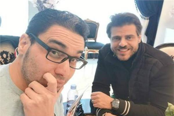 طارق صبري والمخرج هاني حمدي