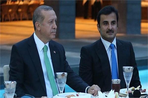أردوغان وتميم