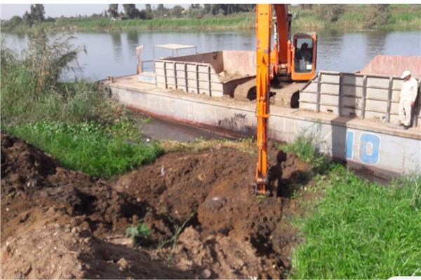 ازالة 1555 حالة تعد على النيل