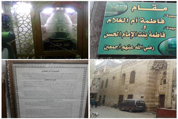 «أم الغلام».. قبطية أنقذت رأس الحسين وحكاية انتسابها لآل البيت - صورة مجمعة