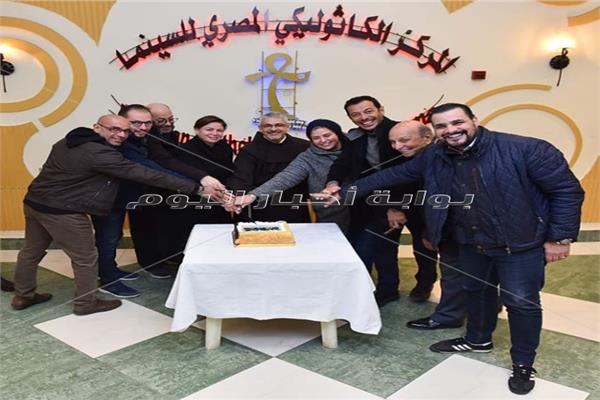 المركز الكاثوليكي يستضيف أعضاء تحكيم المهرجان