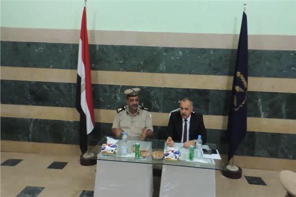 """""""التمريض"""" و""""السياحه"""" و """"الحاسبات"""" ضمن الجولات التفقدية لـ """"رئيس جامعة المنيا"""" بلجان الامتحانات"""