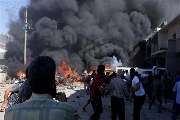صورة من التفجير