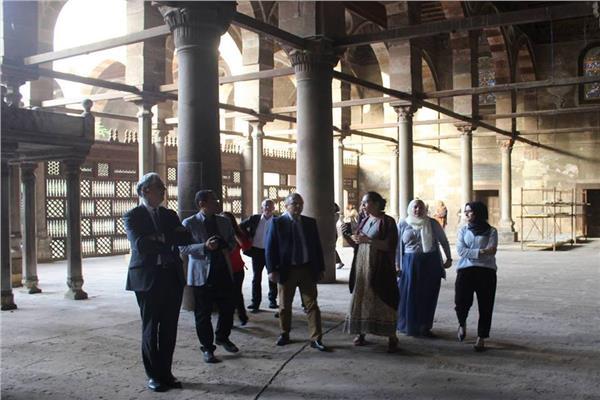 أعمال ترميم منابر المماليك الأثرية بالقاهرة