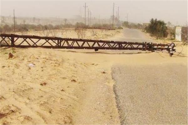 شمال سيناء تعيد اصلاح ما تسببت فيه الاحوال الجوية السيئة