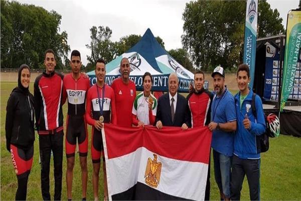 المنتخب المصري للدراجات