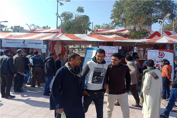 الملتقي التوظيفي بمحافظة أسيوط اليوم الثالث