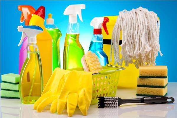 المنظفات المنزلية