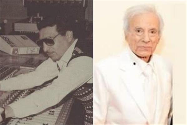 الفنان سعيد عبد الغنى وزكريا عامر