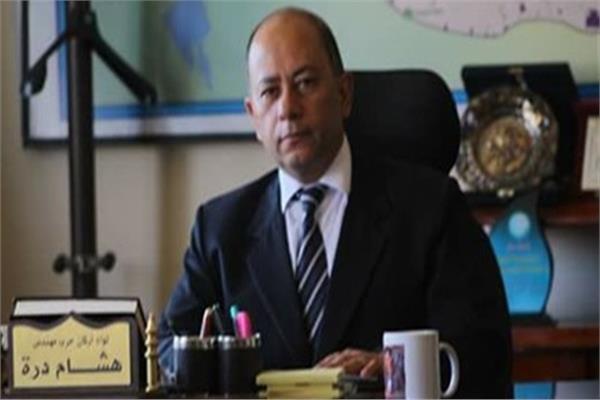 اللواء هشام درة رئيس شركة مياة الشرب والصرف لاالصحي بالفيوم