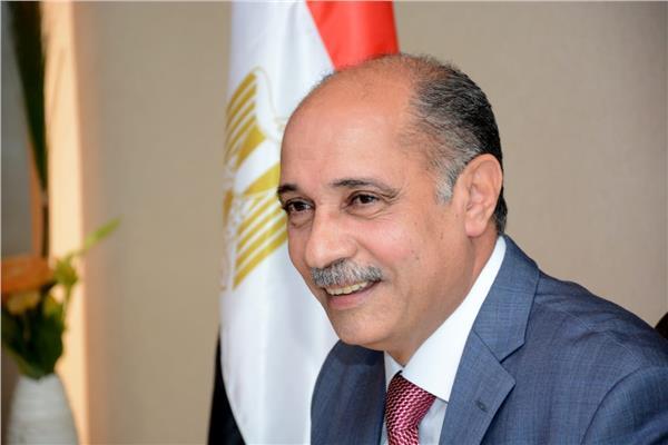وزير الطيران الفريق يونس المصري