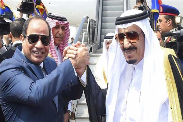 الرئيس السيسى والملك سلمان