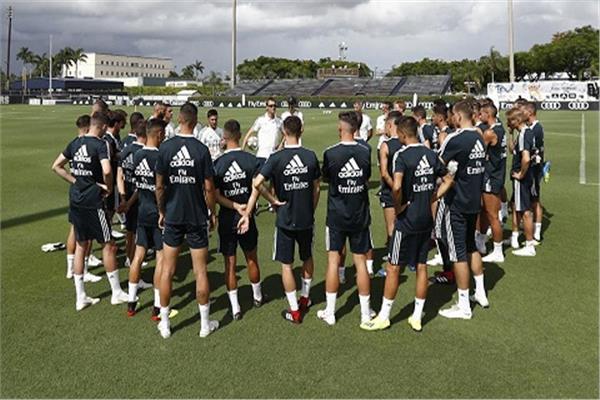 من تدريبات ريال مدريد